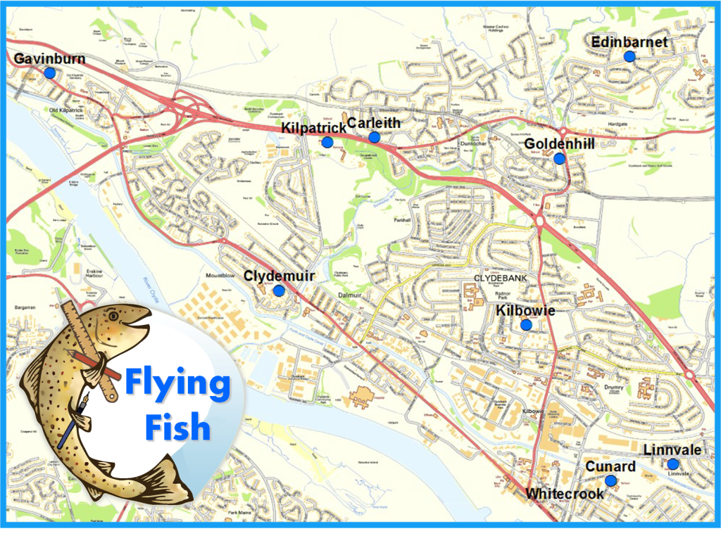 Flying Fish Map