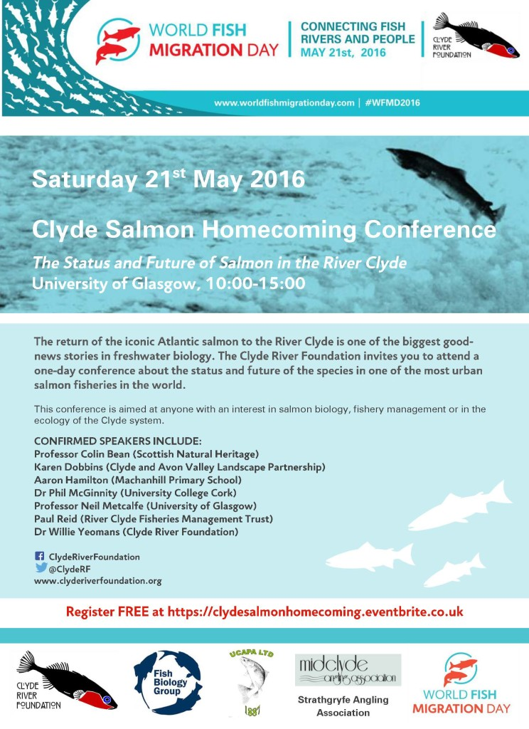 Clyde Salmon Homecoming Conference Flyer